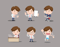 Business character Stock Images