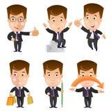 Business character set Stock Photos