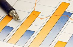 Business Chart Stock Photo