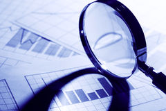 Business Chart Royalty Free Stock Photo