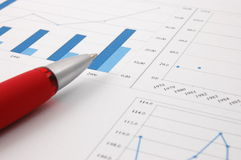 Business chart Stock Photos