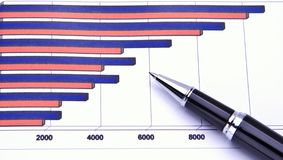 Business chart stock images