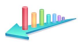 Business chart Stock Photo