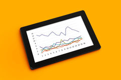 Business Chart Analysis Royalty Free Stock Images