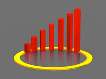 Business chart. Stock Images