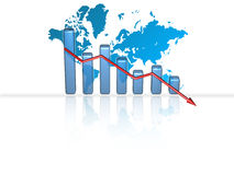 Business Chart - Failure Stock Photos
