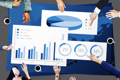 Business Chart Organisation Success Concept.  Stock Image