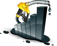 Business Chart Petrol Royalty Free Stock Photos