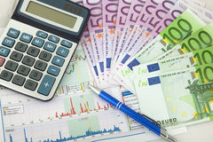 Business chart showing success Stock Photo