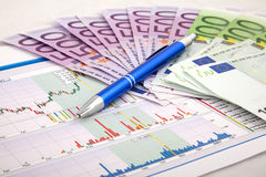 Business chart showing success Royalty Free Stock Photo