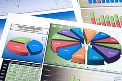 Business Charts Stock Photo