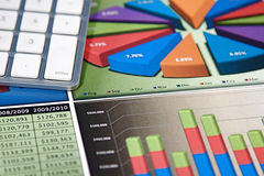 Business Charts Royalty Free Stock Images