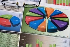 Business Charts Stock Photos
