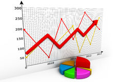Business Charts Stock Image