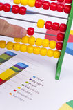 Business charts and numbers. Business charts with details and numbers Stock Photography