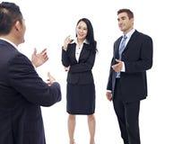 business chatting people στοκ εικόνες