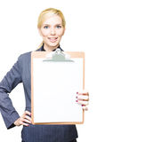 Business Check List Stock Photography