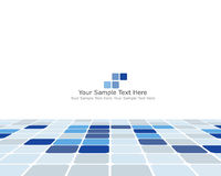 Business checked background Stock Image