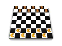Business checkers Stock Photo