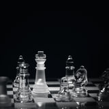 Business checkmate stock photos