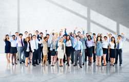 Business Cheerful Cooperation Happiness Team Concept Royalty Free Stock Images