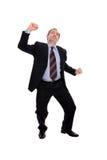 business cheering man στοκ φωτογραφία με δικαίωμα ελεύθερης χρήσης