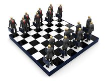 Business chess Stock Images