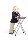 Business child Royalty Free Stock Photos