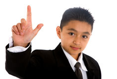 Business child participating Stock Photo