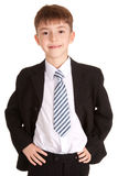 Business child portrait Royalty Free Stock Photos