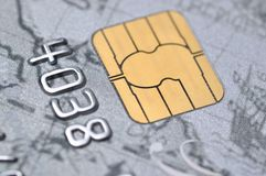 Business chip card Royalty Free Stock Photos
