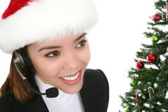 Business at Christmas Stock Images