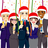 Business Christmas Party Royalty Free Stock Images
