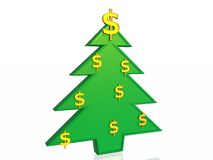Business christmas tree Stock Photos