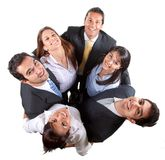 Business circle Royalty Free Stock Photography