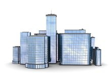 Business city Stock Photography
