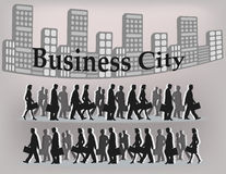 Business city Stock Photo