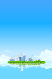 Business City Landscape Royalty Free Stock Photos
