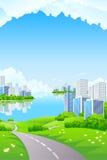Business City Landscape Stock Photo