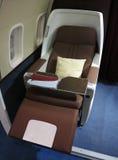 Business class dell'aeroplano Immagini Stock Libere da Diritti