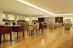 Business class lounge. Waiting business class lounge at airport Stock Photography