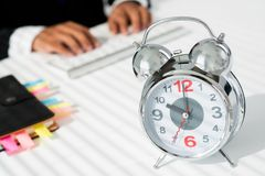Business clock Stock Photo
