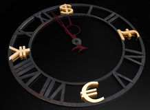 Business clock Stock Photography