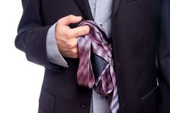 Business clothes Royalty Free Stock Photos