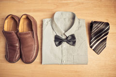 Business clothes Royalty Free Stock Photo