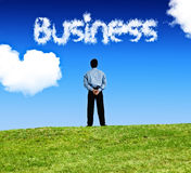 Business cloud Royalty Free Stock Photos