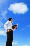 Business and cloud computing concept Stock Photos