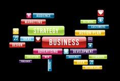 Business cloud Stock Image