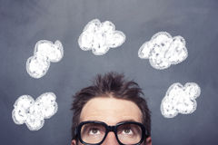 Business Clouds Stock Images