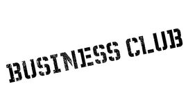 Business Club rubber stamp Stock Image